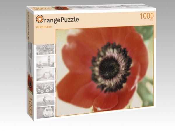 """Puzzle Motiv """"Anemone"""" - Puzzle-Schachtel zu 1000 Teile Puzzle"""