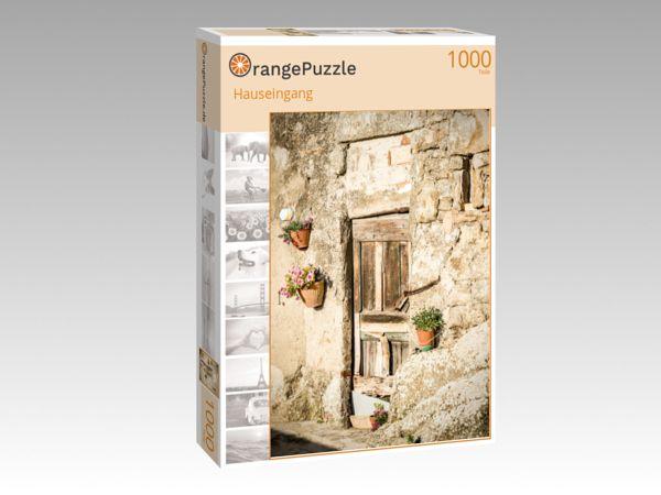 """Puzzle Motiv """"Hauseingang"""" - Puzzle-Schachtel zu 1000 Teile Puzzle"""
