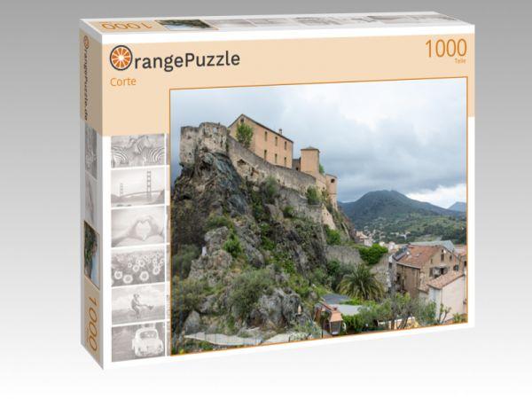 """Puzzle Motiv """"Corte"""" - Puzzle-Schachtel zu 1000 Teile Puzzle"""