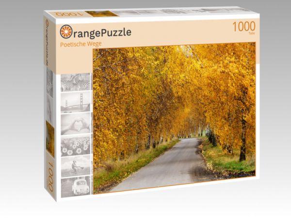 """Puzzle Motiv """"Poetische Wege"""" - Puzzle-Schachtel zu 1000 Teile Puzzle"""