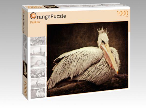 """Puzzle Motiv """"Pelikan"""" - Puzzle-Schachtel zu 1000 Teile Puzzle"""