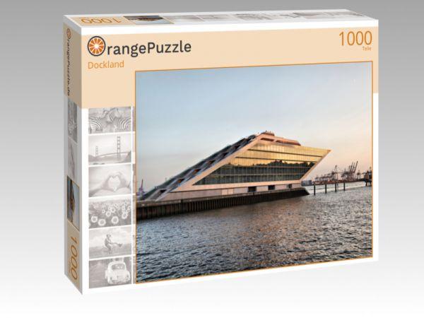 """Puzzle Motiv """"Dockland"""" - Puzzle-Schachtel zu 1000 Teile Puzzle"""
