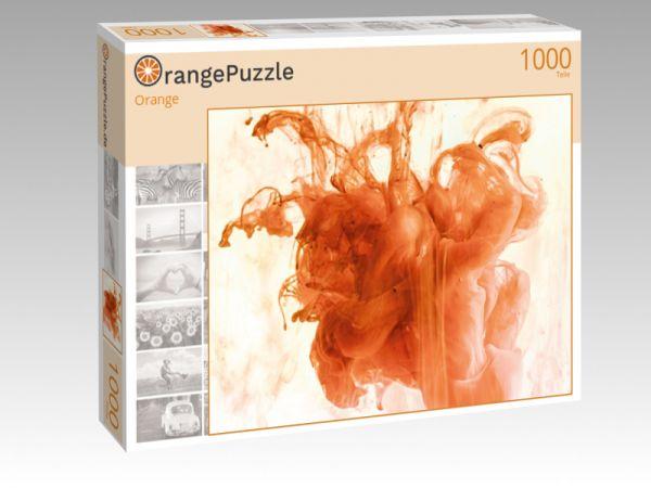 """Puzzle Motiv """"Orange"""" - Puzzle-Schachtel zu 1000 Teile Puzzle"""