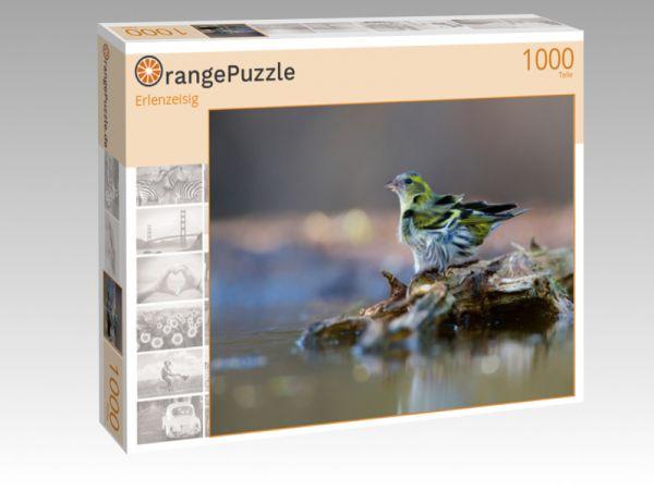 """Puzzle Motiv """"Erlenzeisig"""" - Puzzle-Schachtel zu 1000 Teile Puzzle"""