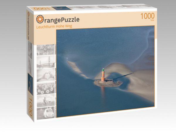 """Puzzle Motiv """"Leuchtturm Hohe Weg"""" - Puzzle-Schachtel zu 1000 Teile Puzzle"""