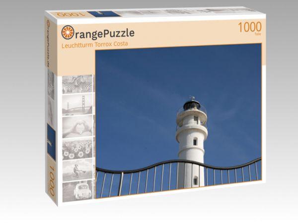 """Puzzle Motiv """"Leuchtturm Torrox Costa"""" - Puzzle-Schachtel zu 1000 Teile Puzzle"""