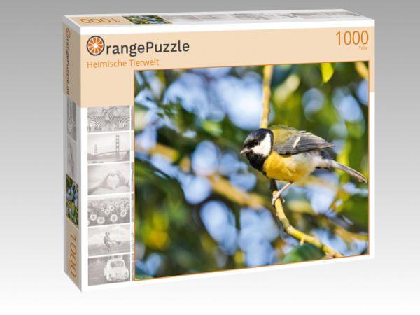 """Puzzle Motiv """"Heimische Tierwelt"""" - Puzzle-Schachtel zu 1000 Teile Puzzle"""