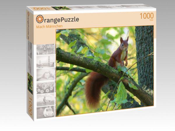 """Puzzle Motiv """"Mach Männchen"""" - Puzzle-Schachtel zu 1000 Teile Puzzle"""