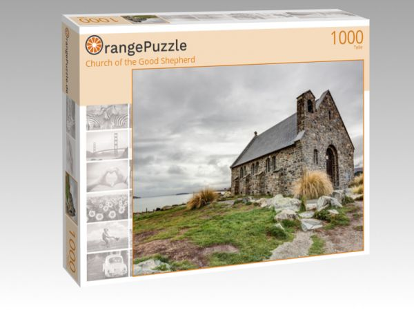 "Puzzle Motiv ""Church of the Good Shepherd"" - Puzzle-Schachtel zu 1000 Teile Puzzle"