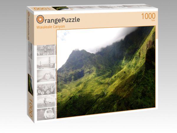 """Puzzle Motiv """"Waialeale Canyon"""" - Puzzle-Schachtel zu 1000 Teile Puzzle"""