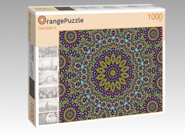 """Puzzle Motiv """"Mandala 4"""" - Puzzle-Schachtel zu 1000 Teile Puzzle"""