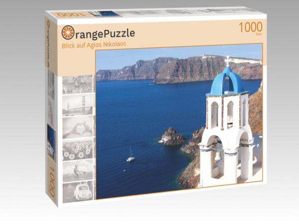 """Puzzle Motiv """"Blick auf Agios Nikolaos"""" - Puzzle-Schachtel zu 1000 Teile Puzzle"""