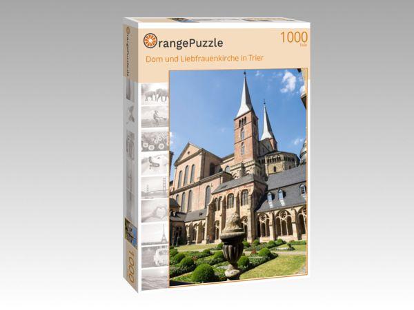 """Puzzle Motiv """"Dom und Liebfrauenkirche in Trier"""" - Puzzle-Schachtel zu 1000 Teile Puzzle"""