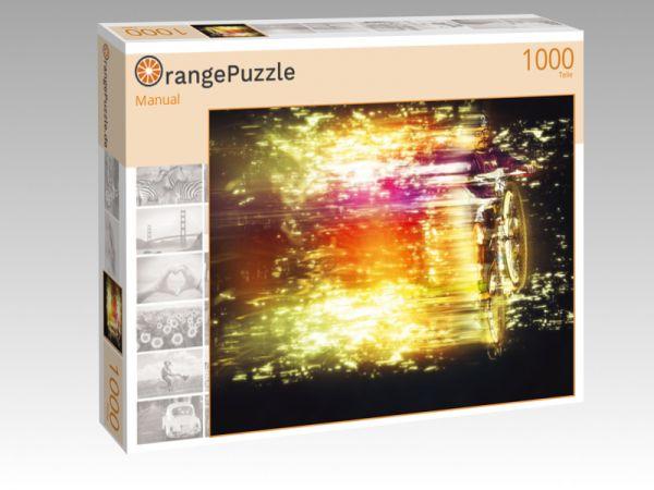 """Puzzle Motiv """"Manual"""" - Puzzle-Schachtel zu 1000 Teile Puzzle"""