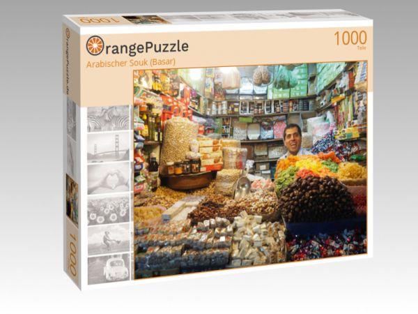 "Puzzle Motiv ""Arabischer Souk (Basar)"" - Puzzle-Schachtel zu 1000 Teile Puzzle"