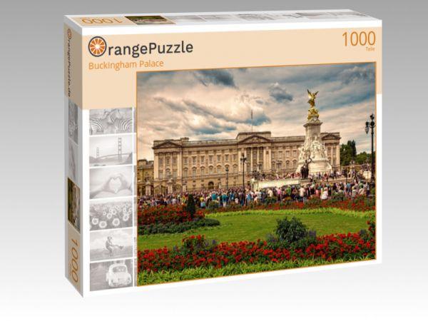 """Puzzle Motiv """"Buckingham Palace"""" - Puzzle-Schachtel zu 1000 Teile Puzzle"""