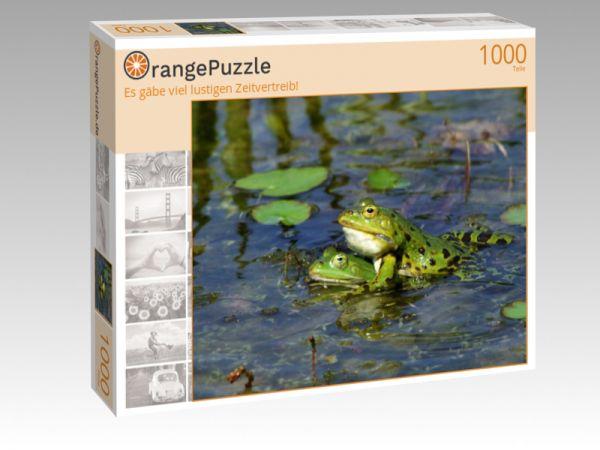 """Puzzle Motiv """"Es gäbe viel lustigen Zeitvertreib!"""" - Puzzle-Schachtel zu 1000 Teile Puzzle"""