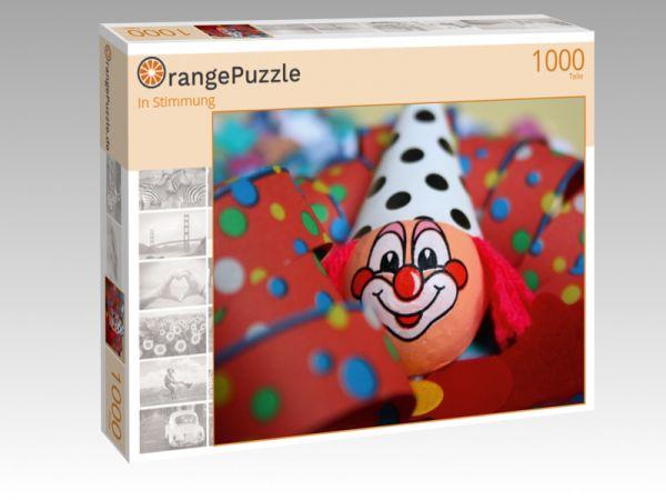 """Puzzle Motiv """"In Stimmung"""" - Puzzle-Schachtel zu 1000 Teile Puzzle"""