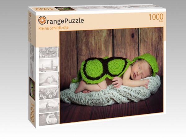 """Puzzle Motiv """"Kleine Schildkröte"""" - Puzzle-Schachtel zu 1000 Teile Puzzle"""