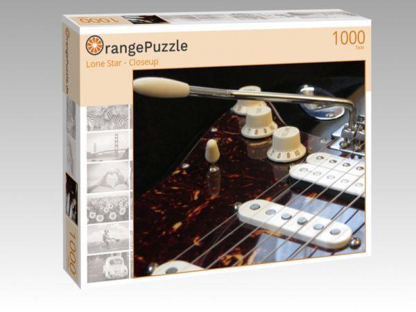 """Puzzle Motiv """"Lone Star - Closeup"""" - Puzzle-Schachtel zu 1000 Teile Puzzle"""