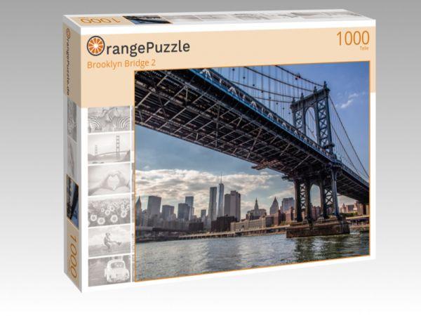"""Puzzle Motiv """"Brooklyn Bridge 2"""" - Puzzle-Schachtel zu 1000 Teile Puzzle"""