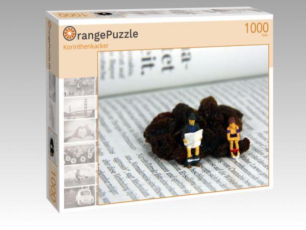 "Puzzle Motiv ""Korinthenkacker"" - Puzzle-Schachtel zu 1000 Teile Puzzle"