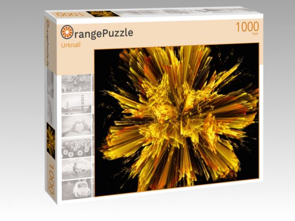 """Puzzle Motiv """"Urknall"""" - Puzzle-Schachtel zu 1000 Teile Puzzle"""