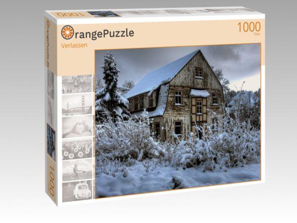 "Puzzle Motiv ""Verlassen"" - Puzzle-Schachtel zu 1000 Teile Puzzle"