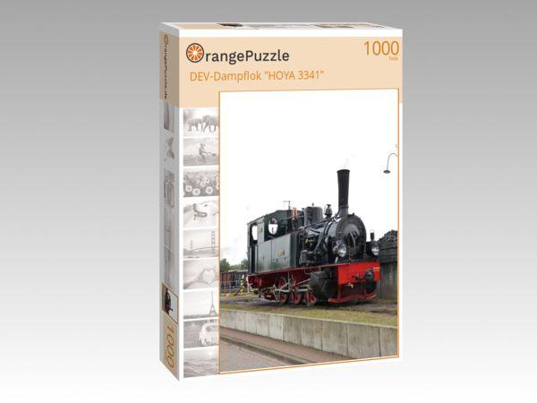 "Puzzle Motiv ""DEV-Dampflok ""HOYA 3341"""" - Puzzle-Schachtel zu 1000 Teile Puzzle"