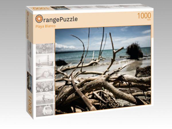 """Puzzle Motiv """"Playa Blanco"""" - Puzzle-Schachtel zu 1000 Teile Puzzle"""