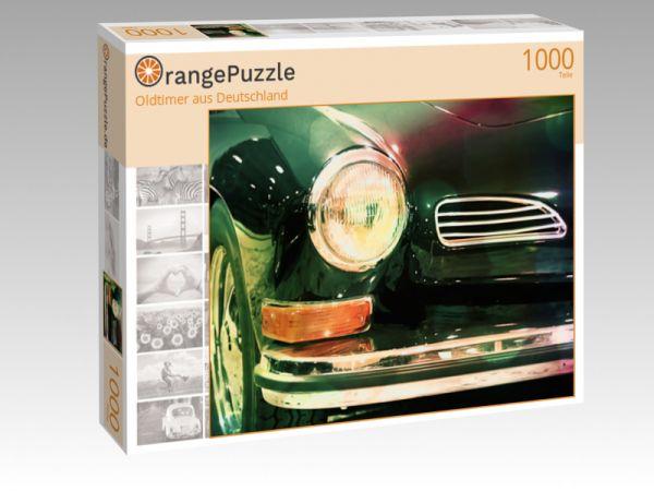 """Puzzle Motiv """"Oldtimer aus Deutschland"""" - Puzzle-Schachtel zu 1000 Teile Puzzle"""
