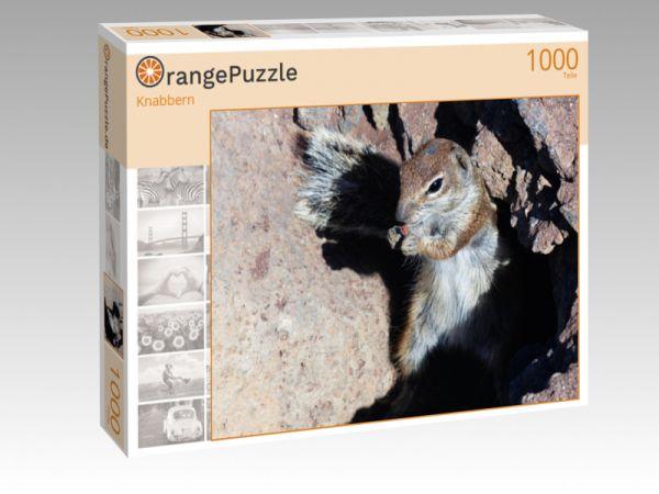 """Puzzle Motiv """"Knabbern"""" - Puzzle-Schachtel zu 1000 Teile Puzzle"""