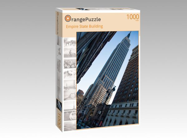 """Puzzle Motiv """"Empire State Building"""" - Puzzle-Schachtel zu 1000 Teile Puzzle"""