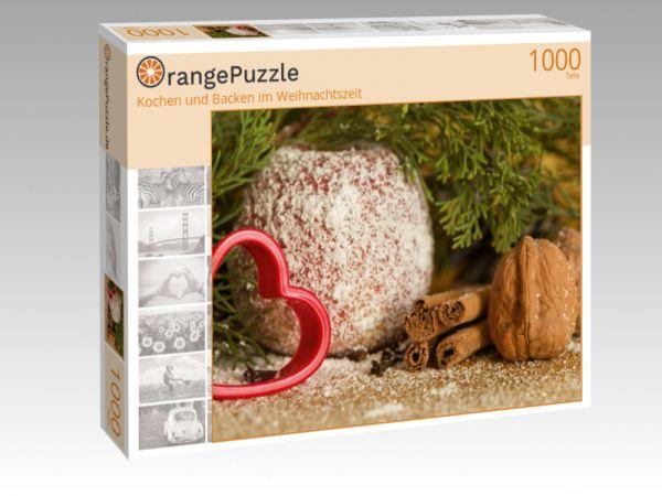 """Puzzle Motiv """"Kochen und Backen im Weihnachtszeit"""" - Puzzle-Schachtel zu 1000 Teile Puzzle"""