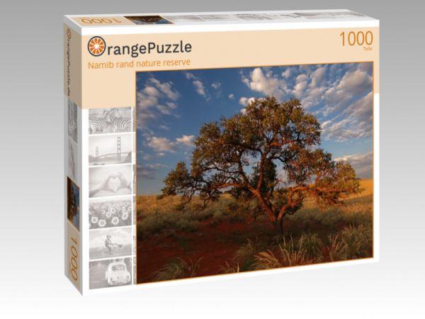"""Puzzle Motiv """"Namib rand nature reserve"""" - Puzzle-Schachtel zu 1000 Teile Puzzle"""