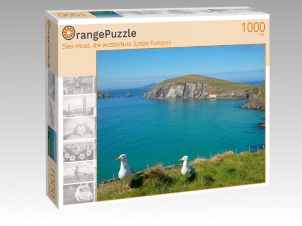 """Puzzle Motiv """"Slea Head, die westlichste Spitze Europas"""" - Puzzle-Schachtel zu 1000 Teile Puzzle"""