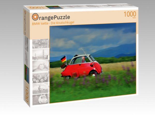 """Puzzle Motiv """"BMW Isetta - Die Knutschkugel"""" - Puzzle-Schachtel zu 1000 Teile Puzzle"""