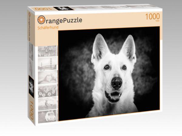 """Puzzle Motiv """"Schäferhund"""" - Puzzle-Schachtel zu 1000 Teile Puzzle"""