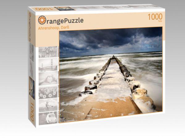 """Puzzle Motiv """"Ahrenshoop, Darß"""" - Puzzle-Schachtel zu 1000 Teile Puzzle"""