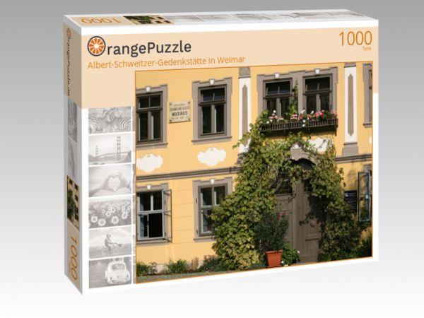 """Puzzle Motiv """"Albert-Schweitzer-Gedenkstätte in Weimar"""" - Puzzle-Schachtel zu 1000 Teile Puzzle"""