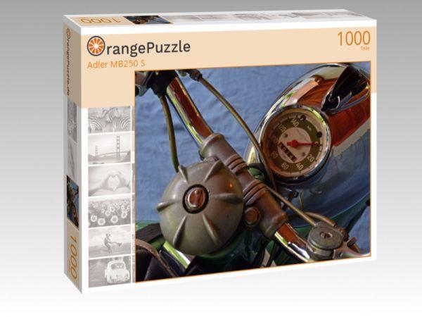 """Puzzle Motiv """"Adler MB250 S"""" - Puzzle-Schachtel zu 1000 Teile Puzzle"""