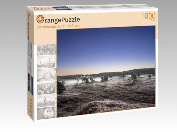 """Puzzle Motiv """"Dei Vennausläufer im Frost"""" - Puzzle-Schachtel zu 1000 Teile Puzzle"""