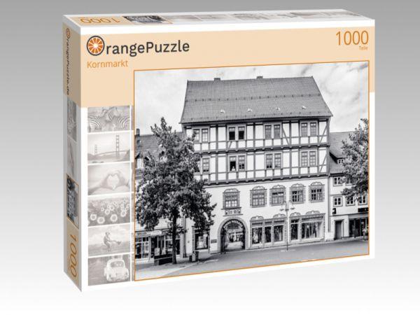 """Puzzle Motiv """"Kornmarkt"""" - Puzzle-Schachtel zu 1000 Teile Puzzle"""