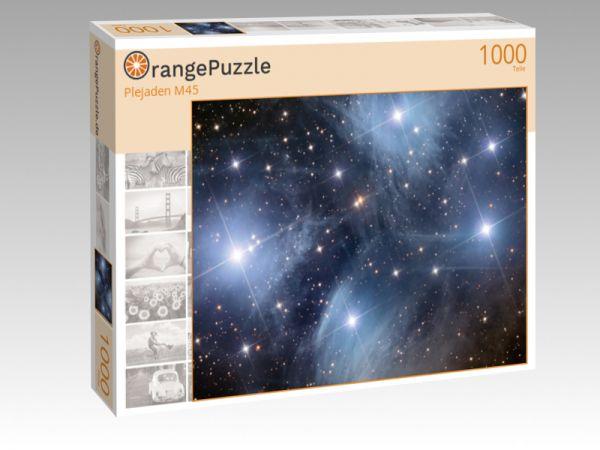 """Puzzle Motiv """"Plejaden M45"""" - Puzzle-Schachtel zu 1000 Teile Puzzle"""