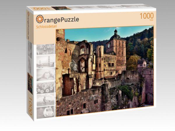 "Puzzle Motiv ""Schlossdetail"" - Puzzle-Schachtel zu 1000 Teile Puzzle"