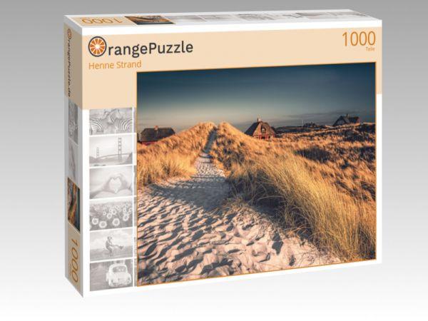 """Puzzle Motiv """"Henne Strand"""" - Puzzle-Schachtel zu 1000 Teile Puzzle"""