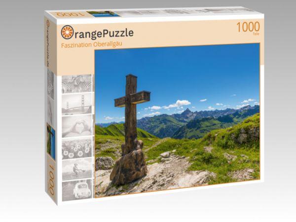 "Puzzle Motiv ""Faszination Oberallgäu"" - Puzzle-Schachtel zu 1000 Teile Puzzle"