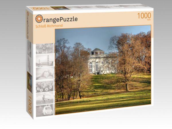 "Puzzle Motiv ""Schloß Richmond"" - Puzzle-Schachtel zu 1000 Teile Puzzle"