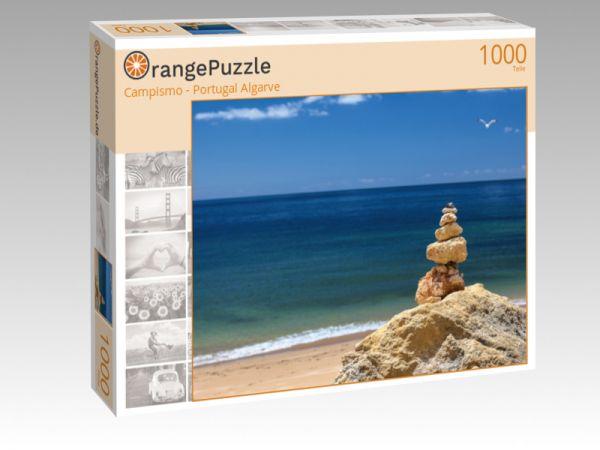 "Puzzle Motiv ""Campismo - Portugal Algarve"" - Puzzle-Schachtel zu 1000 Teile Puzzle"