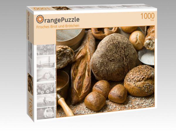 """Puzzle Motiv """"Frisches Brot und Brötchen"""" - Puzzle-Schachtel zu 1000 Teile Puzzle"""